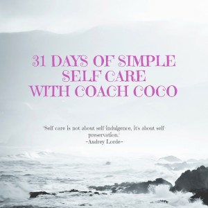 31 Days of Simple Self Care for Challenge